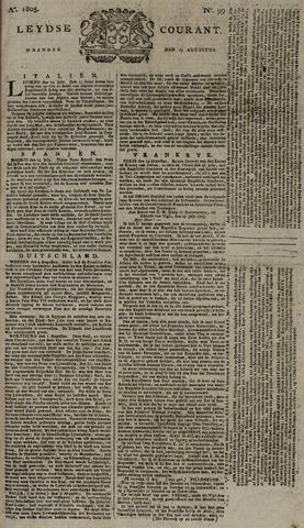 Leydse Courant 1805-08-19