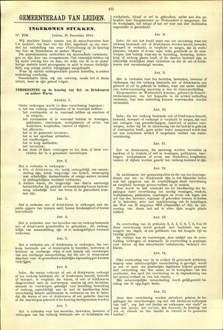 Handelingen van de Raad 1914-12-16