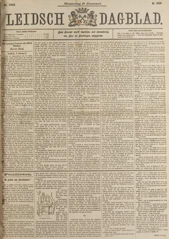 Leidsch Dagblad 1899-01-09
