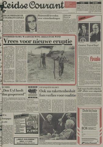 Leidse Courant 1985-11-16