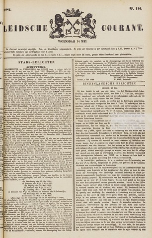 Leydse Courant 1884-05-14