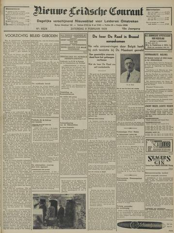 Nieuwe Leidsche Courant 1939-02-11