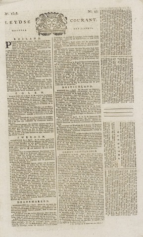 Leydse Courant 1818-04-20