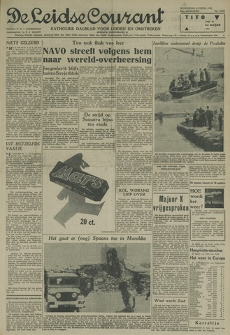 Leidse Courant 1958-04-23