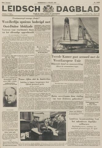 Leidsch Dagblad 1955-03-31