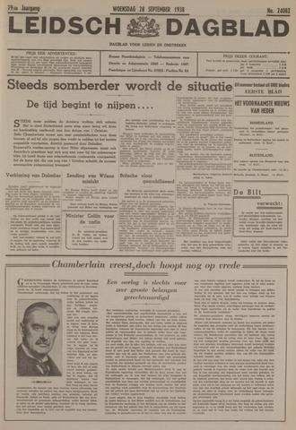 Leidsch Dagblad 1938-09-28