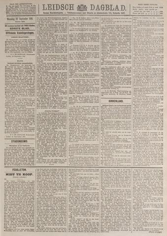 Leidsch Dagblad 1919-09-22