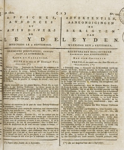 Leydse Courant 1812-09-09