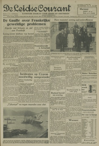Leidse Courant 1958-06-14