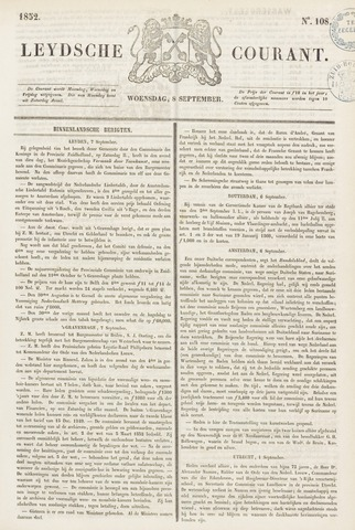 Leydse Courant 1852-09-08