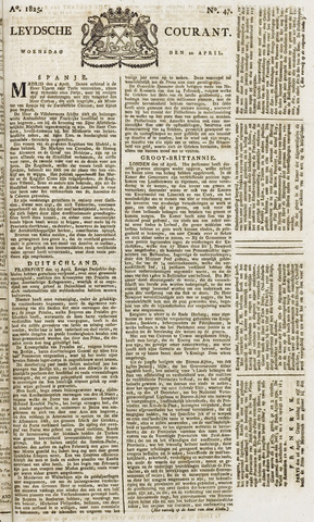 Leydse Courant 1825-04-20