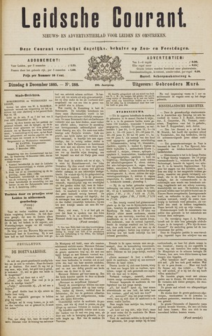 Leydse Courant 1885-12-08