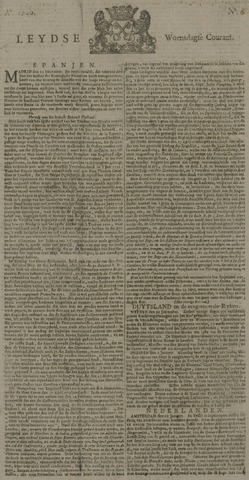Leydse Courant 1740-01-13