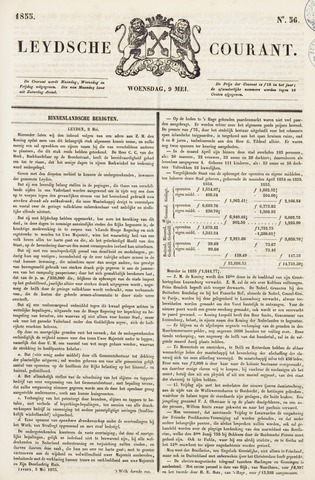 Leydse Courant 1855-05-09