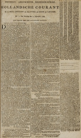 Leydse Courant 1795-09-14