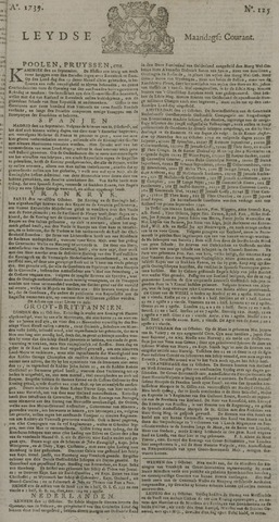 Leydse Courant 1739-10-19