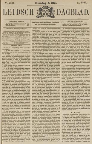 Leidsch Dagblad 1885-05-05