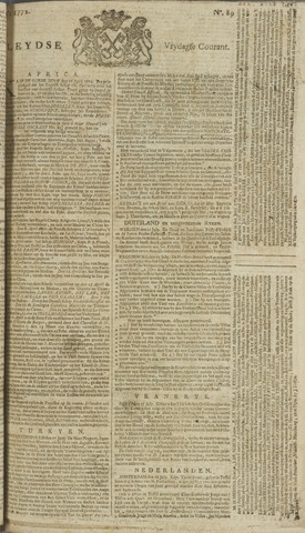 Leydse Courant 1772-07-24