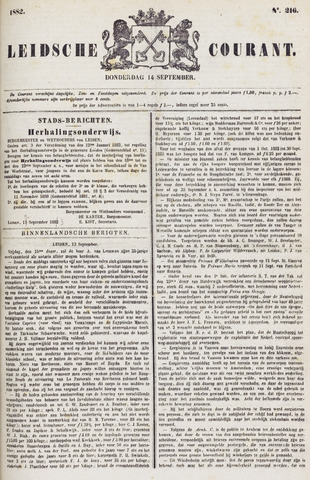Leydse Courant 1882-09-14