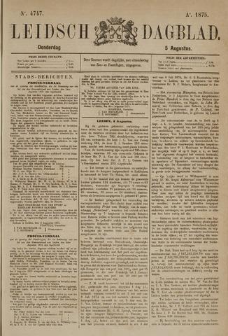 Leidsch Dagblad 1875-08-05