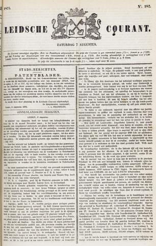 Leydse Courant 1875-08-07