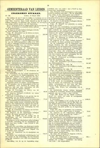Handelingen van de Raad 1926-03-16