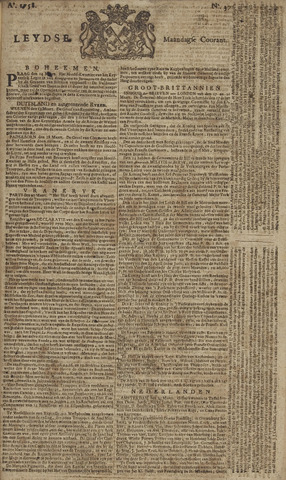 Leydse Courant 1758-03-27