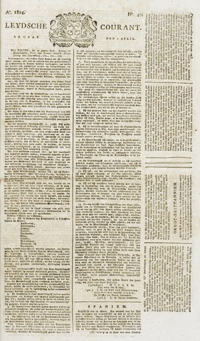 Leydse Courant 1824-04-02