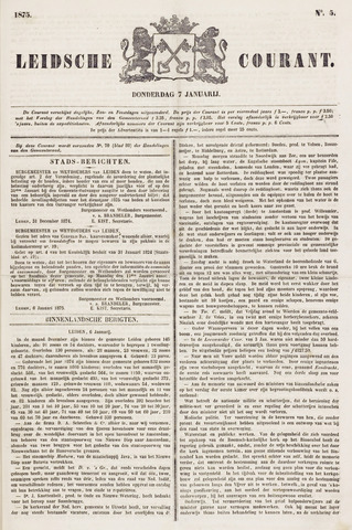 Leydse Courant 1875-01-07