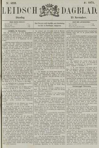 Leidsch Dagblad 1873-11-25