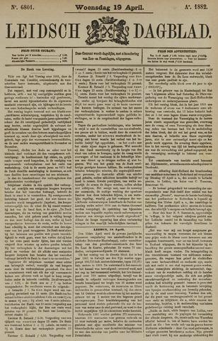 Leidsch Dagblad 1882-04-19