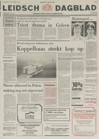 Leidsch Dagblad 1980-11-17