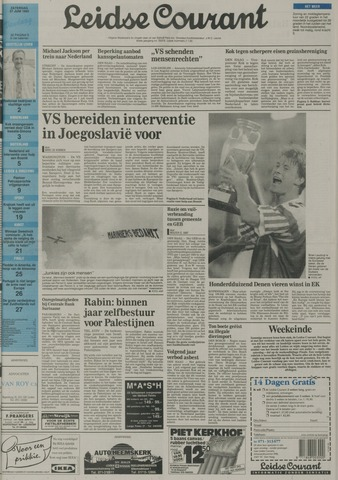 Leidse Courant 1992-06-27