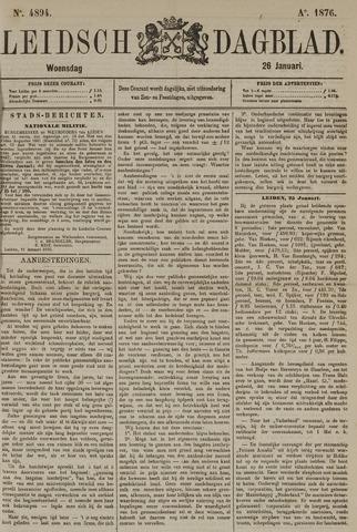 Leidsch Dagblad 1876-01-26