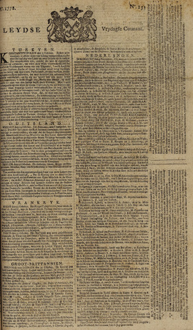 Leydse Courant 1778-11-06