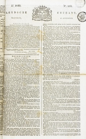 Leydse Courant 1843-08-28