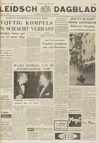 Leidsch Dagblad 1963-10-25