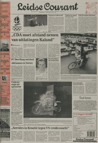 Leidse Courant 1992-02-13