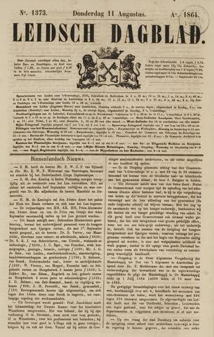 Leidsch Dagblad 1864-08-11