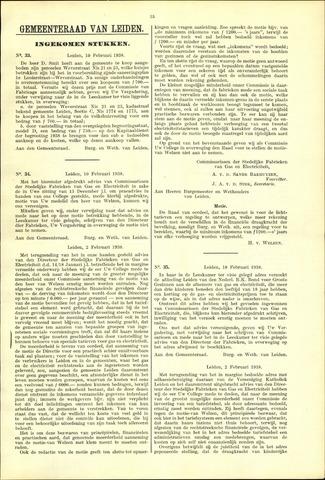Handelingen van de Raad 1938-02-10