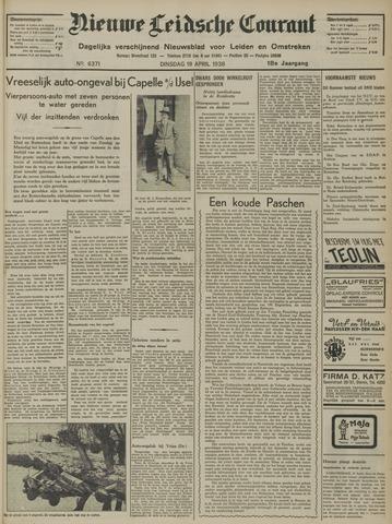Nieuwe Leidsche Courant 1938-04-19