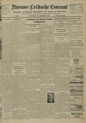 Nieuwe Leidsche Courant 1939-11-18
