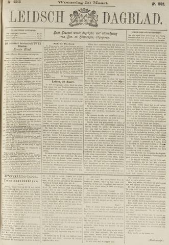 Leidsch Dagblad 1892-03-30