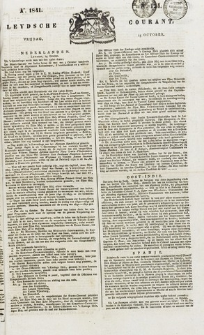 Leydse Courant 1841-10-15