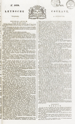 Leydse Courant 1839-08-30