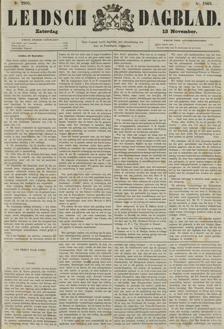 Leidsch Dagblad 1869-11-13