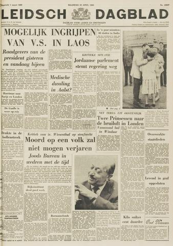 Leidsch Dagblad 1963-04-22