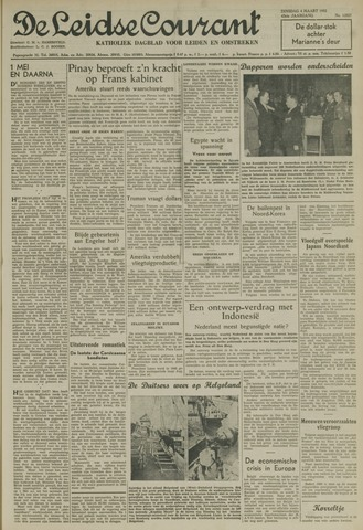 Leidse Courant 1952-03-04