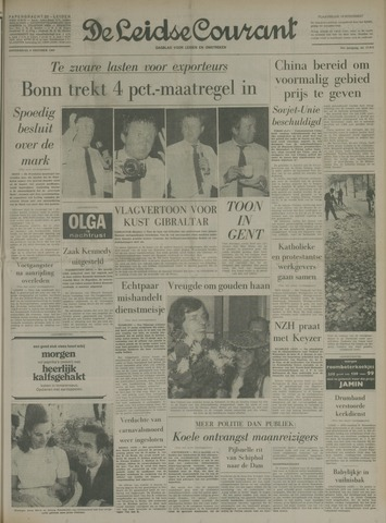 Leidse Courant 1969-10-09