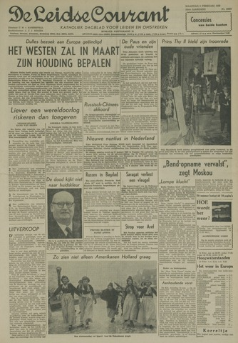 Leidse Courant 1959-02-09